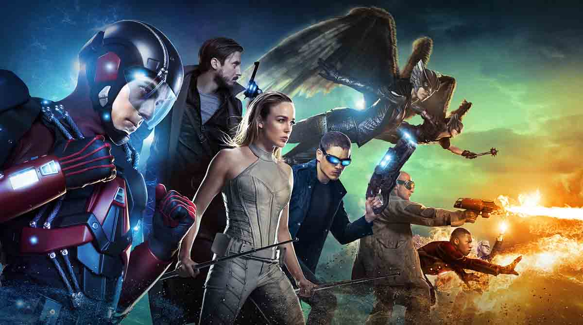4- Legends of Tomorrow<br />