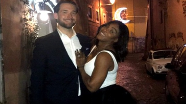 15- Serena Williams ve Alexis Ohanian