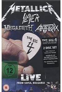 The Big Four: Live From Sofia Bulgaria (2DVD)