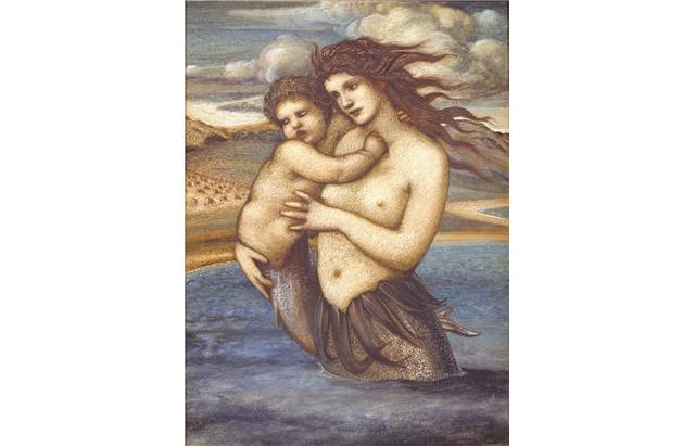 """The Mermaid"", Sir Edward Coley Burne-Jones, 1882"