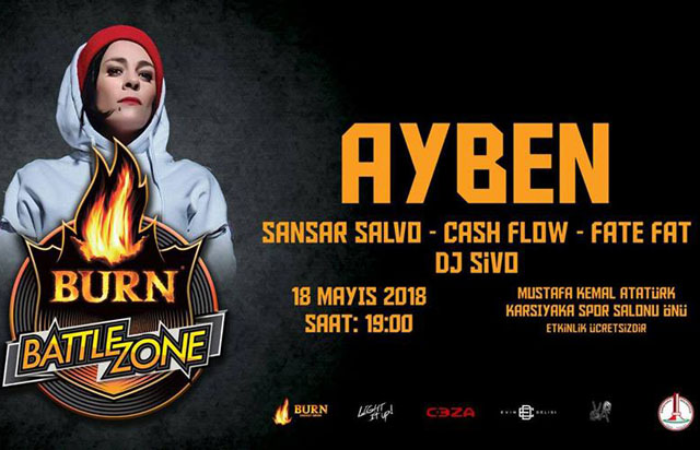 Burn Battle Zone İzmir'de!