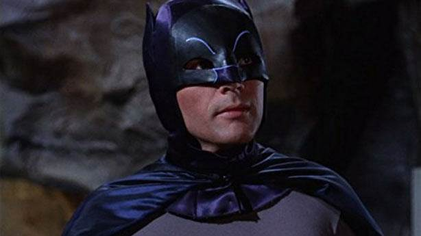 6. Adam West'in Batman serisi kötüydü
