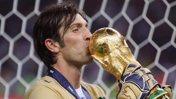 1- Gianluigi Buffon