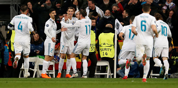 Real Madrid - Paris Saint-Germain: 3-1