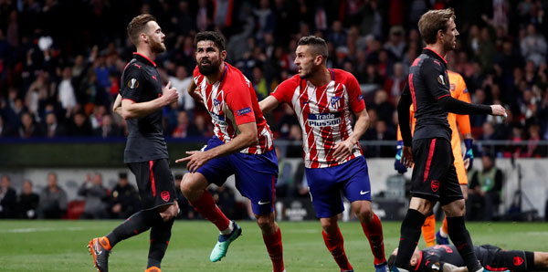 Atletico Madrid - Arsenal: 1-0