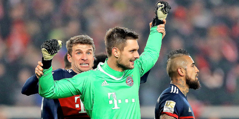 Sven Ulreich'ten korkutan performans!