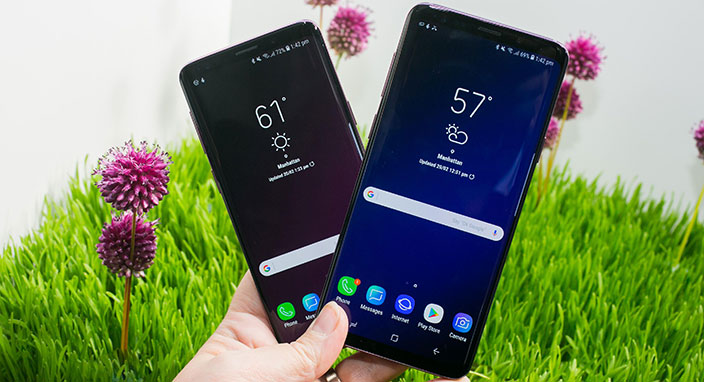 Samsung Galaxy S9'un internet hızı iPhone X'i geçti!