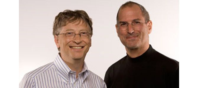 compare and contrast bill gates and steve jobs Rockefeller's net worth was equal to 25 percent of the gross national product of the united states, vs one-half of 1 percent of the gross national product for bill gates.